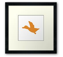 Duck Hunt Symbol - Super Smash Bros. (color) Framed Print