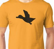 Duck Hunt Symbol - Super Smash Bros. (black) Unisex T-Shirt