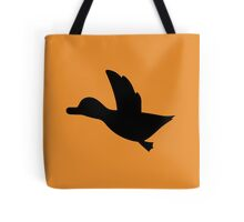 Duck Hunt Symbol - Super Smash Bros. (black) Tote Bag