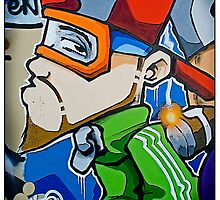 Street art by Cheo, 2009, Bristol by TimConstable