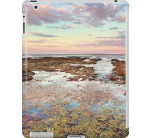 Pink sunset at Vincentia NSW Australia seascape landscape iPad Case/Skin