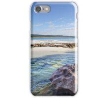 Flat Rock Creek, Hyams Beach Australia landscape seascape iPhone Case/Skin