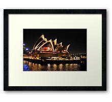 Lady Of Light - Sydney Opera House, Sydney Framed Print