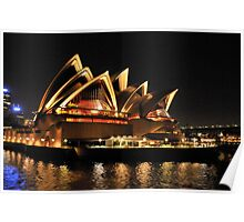 Lady Of Light - Sydney Opera House, Sydney Poster