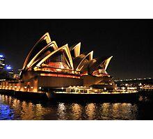 Lady Of Light - Sydney Opera House, Sydney Photographic Print