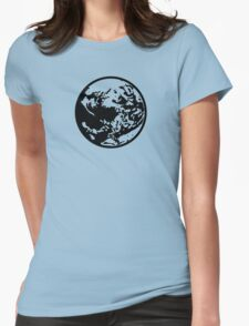 Earthbound Symbol - Super Smash Bros. (black) Womens Fitted T-Shirt