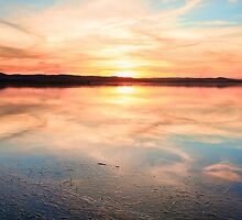 Long Jetty sunset Australia seascape by Leah-Anne Thompson