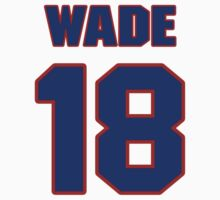National baseball player Jake Wade jersey 18 by imsport