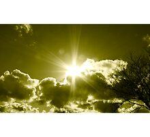 bright light Photographic Print