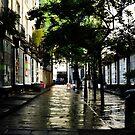 A London lane by Heather Thorsen