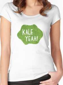 Kale Yeah! Women's Fitted Scoop T-Shirt