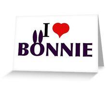 I Heart Bonnie Greeting Card