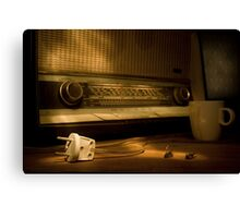 Radio Electricity Canvas Print