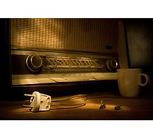 Radio Electricity Photographic Print