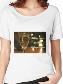 Sparkling Holidays Women's Relaxed Fit T-Shirt