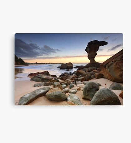 Beach Sunrise Noraville Central Coast NSW Australia seascape landscape Canvas Print