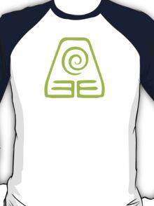 Earthbending Symbol (light) T-Shirt