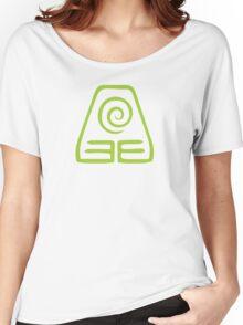 Earthbending Symbol (light) Women's Relaxed Fit T-Shirt