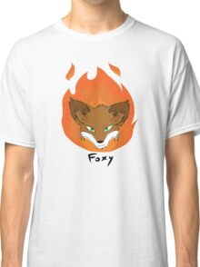 The Green-eyed Foxy Classic T-Shirt