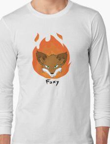 The Green-eyed Foxy Long Sleeve T-Shirt