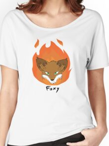 The Green-eyed Foxy Women's Relaxed Fit T-Shirt