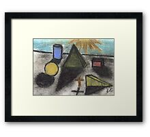 THE SHAPE OF THINGS TO COME Framed Print