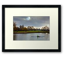 Winter Morning - River Avon Framed Print