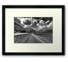 Road to Honister Framed Print