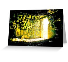 Mellow Yellow Greeting Card