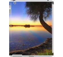 Sunbeams reflected in the water at sunset  seascape iPad Case/Skin