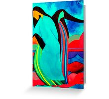Thunder Beings Greeting Card