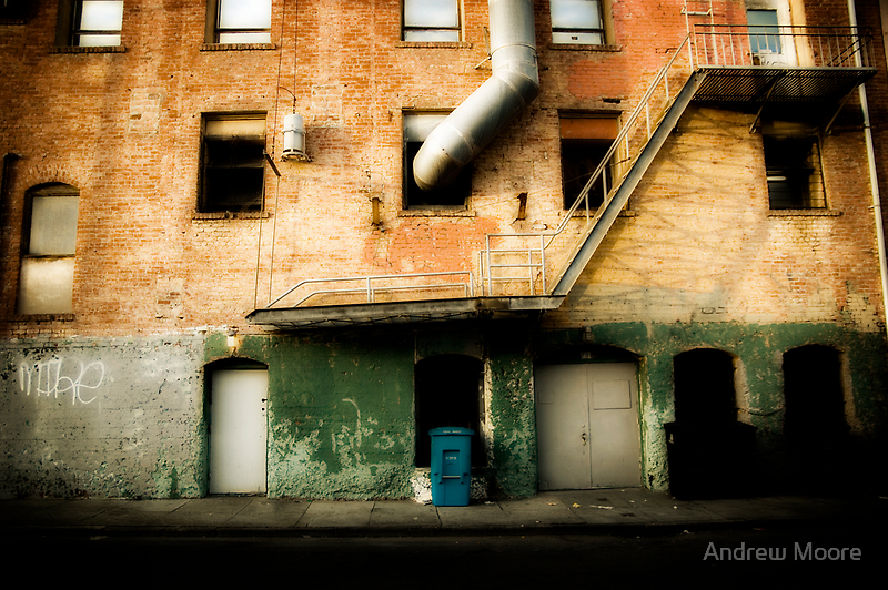 The Foreign Alley by Andrew Moore