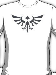 Hylian Crest (gray) T-Shirt