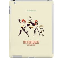 The Incredibles: The Super Family (Vintage) iPad Case/Skin