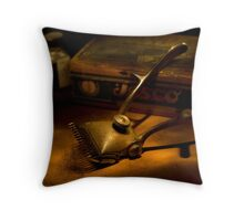 Trimmed nostalgia Throw Pillow