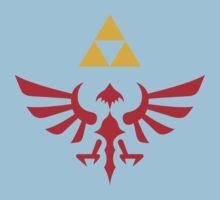 Hylian Shield Symbol Kids Tee