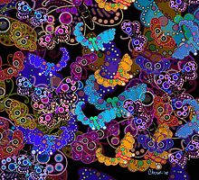Butterfly Tapestry by Cherie Balowski