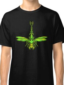 Green Dragonfly  Classic T-Shirt
