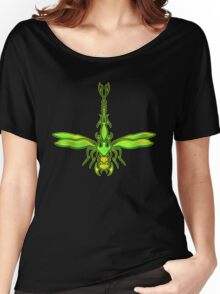 Green Dragonfly  Women's Relaxed Fit T-Shirt