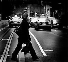 Stroll Through the City Photographic Print