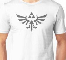The Legend of Zelda Royal Crest (gray) Unisex T-Shirt