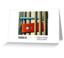 Sneaking Out Greeting Card