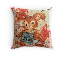 Happy Belated Easter Throw Pillow