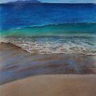 A walk along the beach by Amy Barnett
