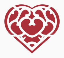 Zelda Skyward Sword Heart (red) by hopperograss