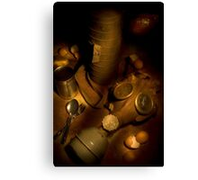 Army life Canvas Print