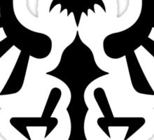 Hylian Crest (black) Sticker