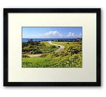 Picturesque Caves Beach NSW Australia Framed Print