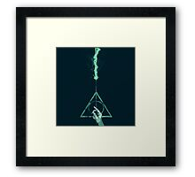 Expecto Patronum Harry Potter Deathly Hallows Framed Print