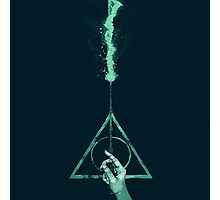 Expecto Patronum Harry Potter Deathly Hallows Photographic Print